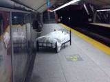 Bett für unterwegs