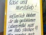 Wurstdieb!