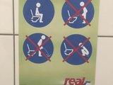 Toilette benutzen
